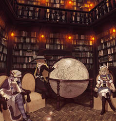 Voile's Globe Room by soumakyo