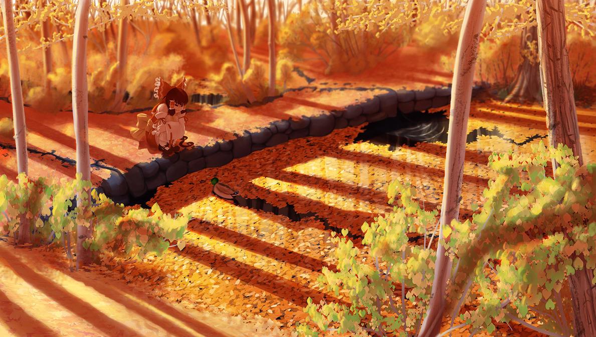 Golden autumn by soumakyo