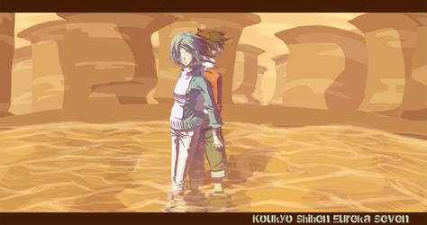 Koukyo Shihen Eureka 7 by soumakyo