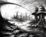 Alien Landscape WIP