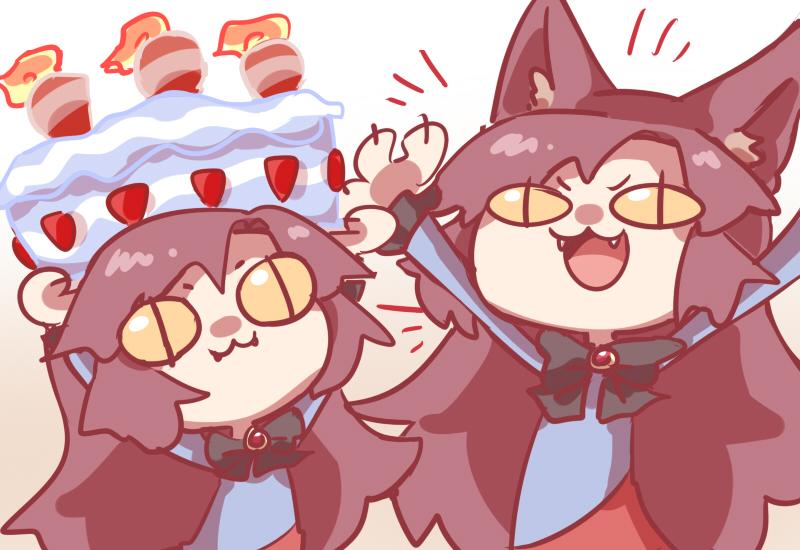 Birthday rawr by Guuchama