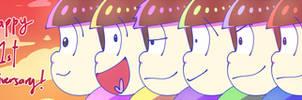 HAPPY ANNIVERSARY OSOMATSU!!