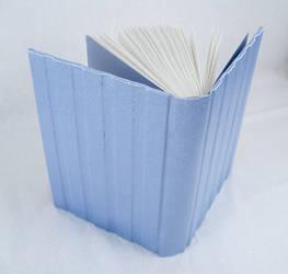 sky satin - blank book