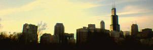 chicago panorama by yatsu