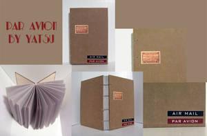 blank book - par avion by yatsu