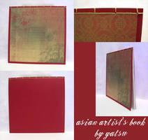 blank book - artist's pad by yatsu