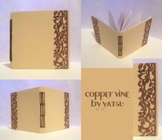 blank book - copper vine by yatsu