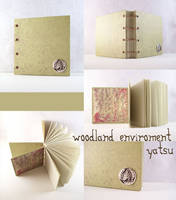 blank book - woodland by yatsu
