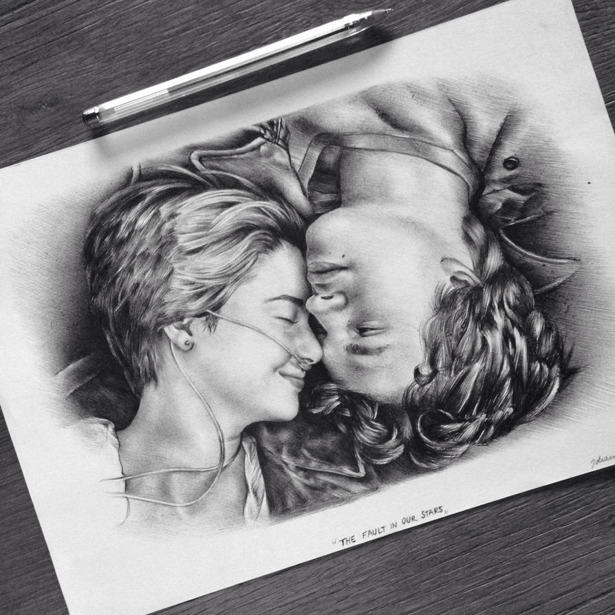 The Fault In Our Stars Isaac Drawing