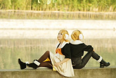 V+only Rin and Len by bai917