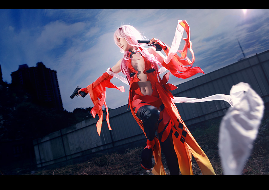 Guilty Crown-inori by bai917
