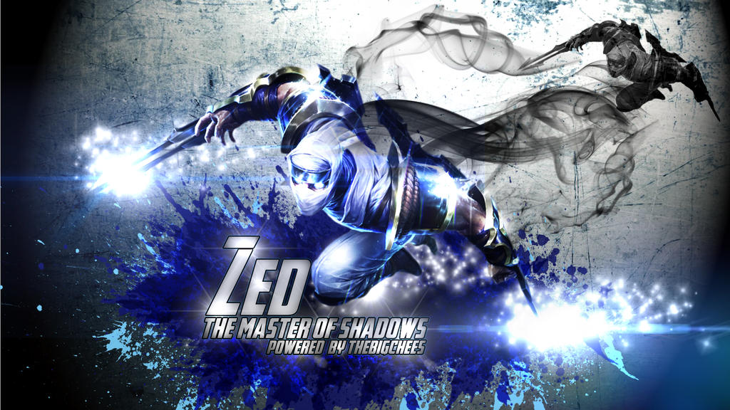 League Of Legends Lol Zed Wallpaper For Thebig By Armoredgod