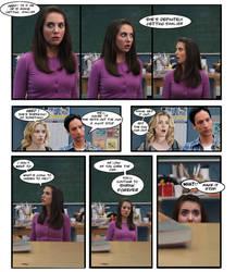 Annie Shrinks Comic