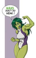 She Hulk by Andr3sB