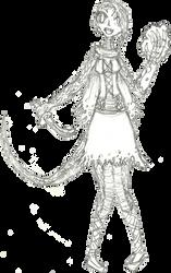 The Lizard girl by dogdragon