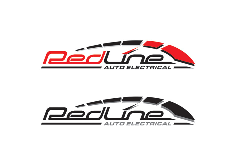 redline auto electrical logo by sammi321 on deviantart