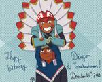 Happy birthday Dingo and Tomahawkman !!!
