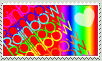 Rainbow Stamp by Sayue