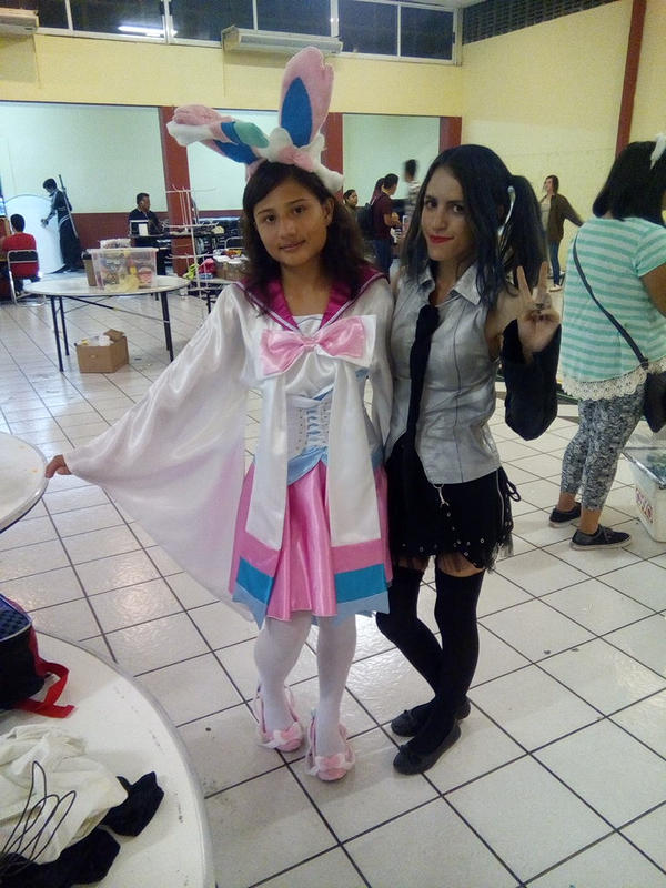 //Sylveon and Hatsune Miku Dark// by Lady-Sweet-Suicide