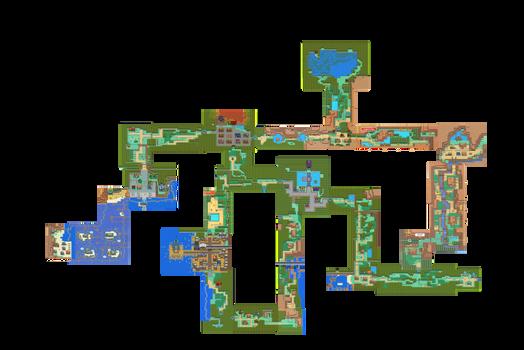 JOHTO soul silver: full game map