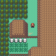 Pokemon red and blue tileset revamp by foliap