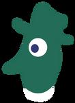 Toxic Duck Character Emblem