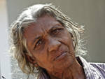 Poor old lady. SL