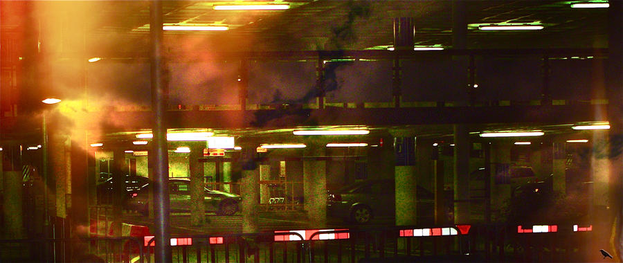 Airport garage. by jennystokes