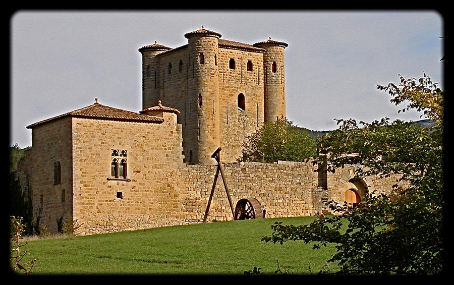 Castles 6. Languedoc. France. by jennystokes