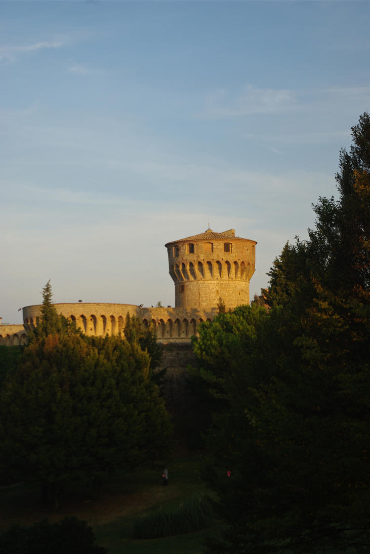 Old Prison 2 Volterra. Italy by jennystokes