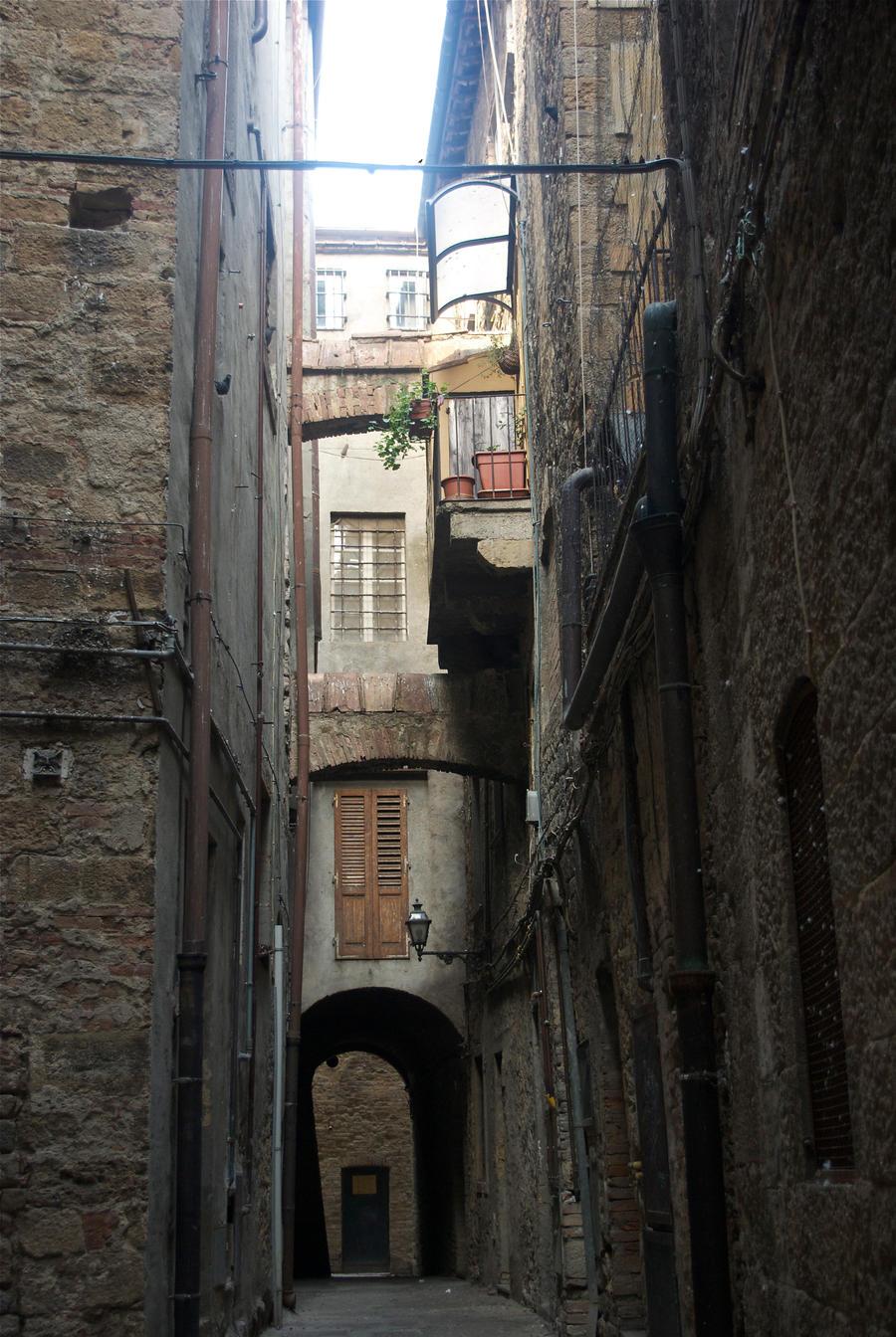 Street. Volterra.Italy by jennystokes