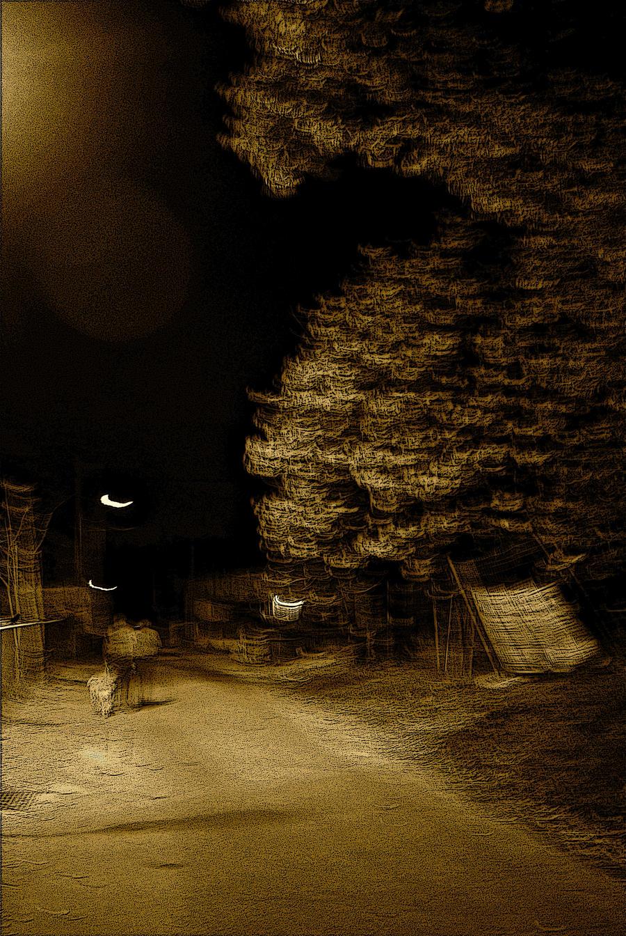 Night walk. by jennystokes