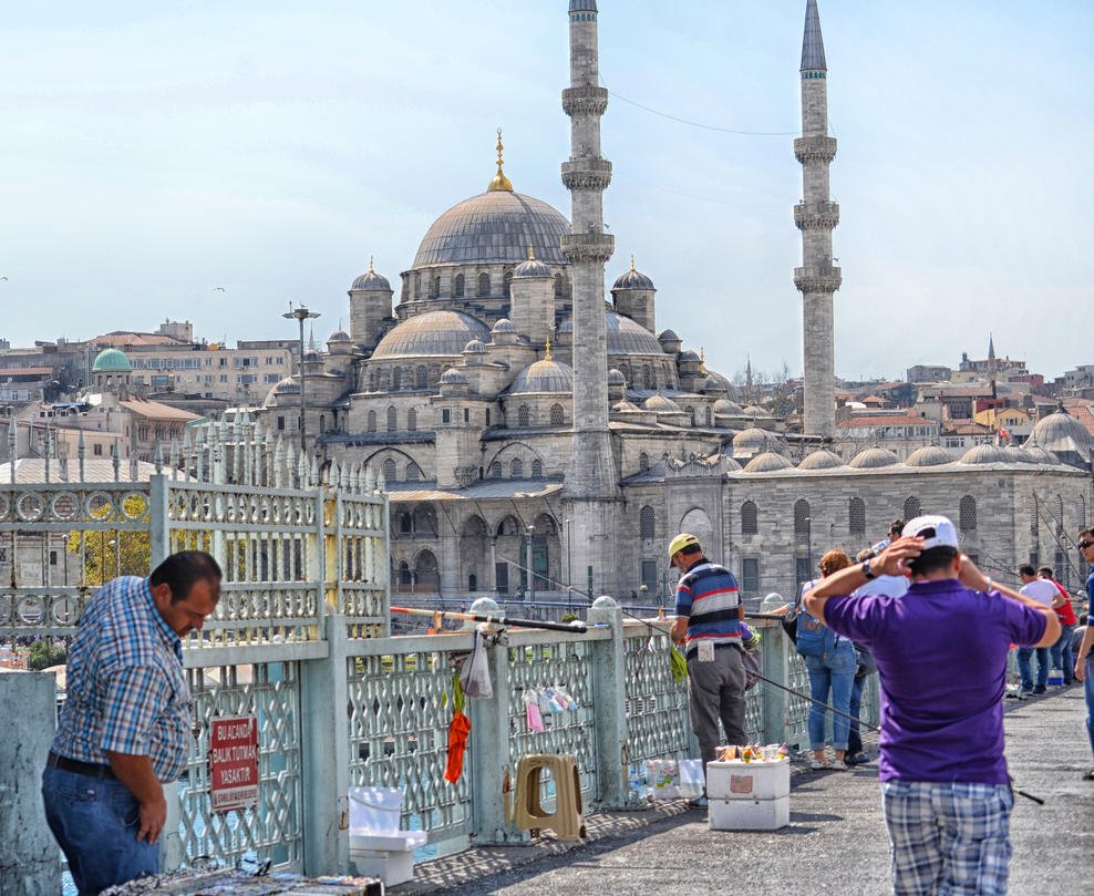 City of Domes. Istanbul. Turkey by jennystokes