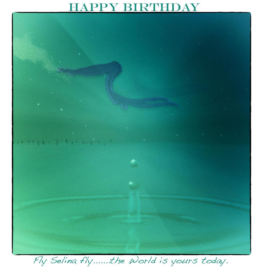 Happy Birthday........dearest Selina by jennystokes