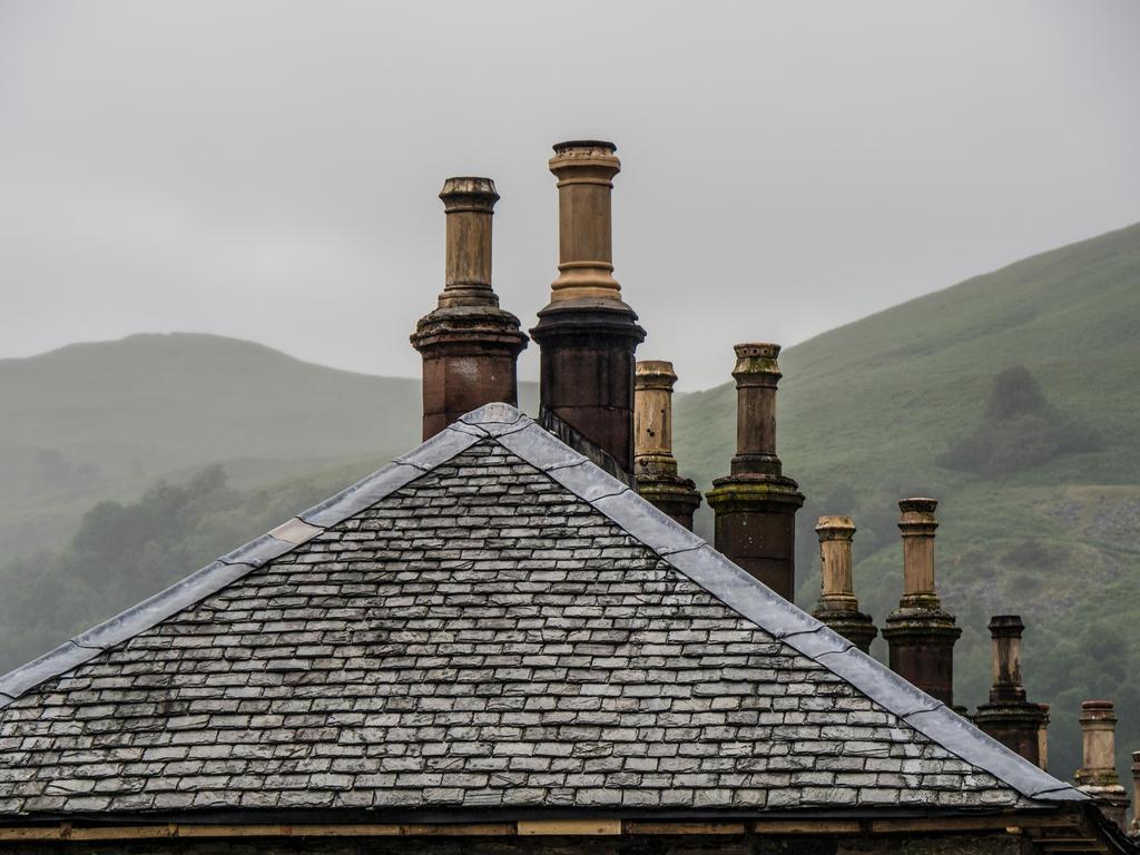 Chimneys. Scotland. by jennystokes