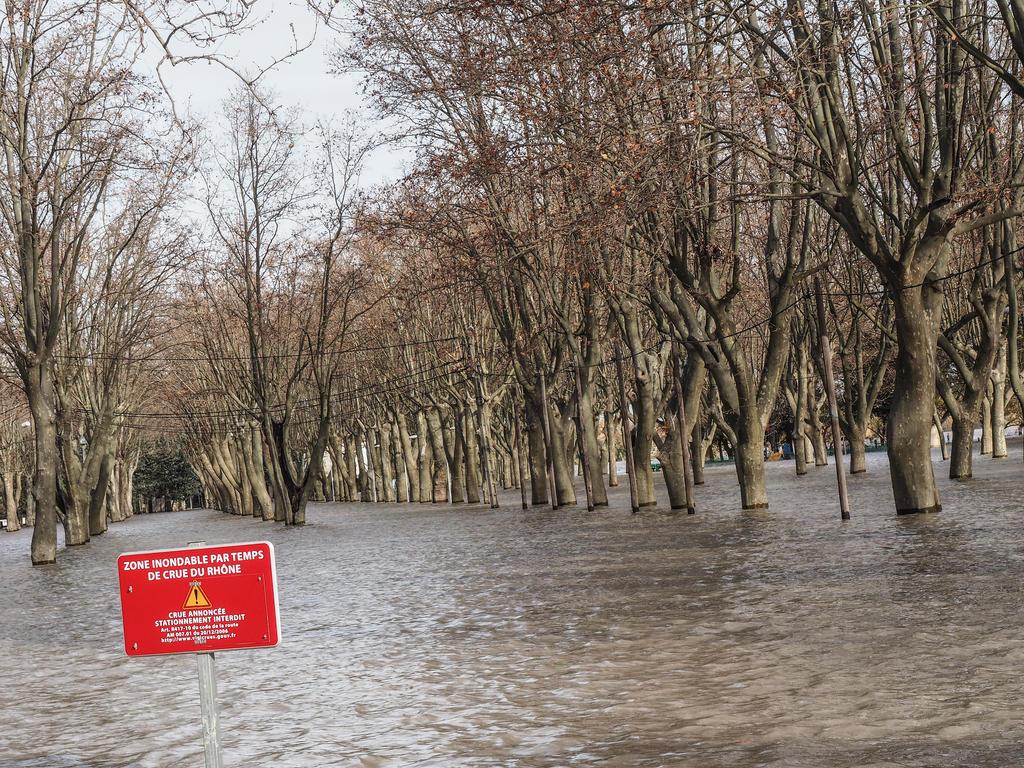 Nov. 23rd 2016 2. Rhone/Gardon floods. Beaucaire. by jennystokes