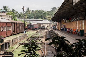 Galle Train Station 1 by jennystokes