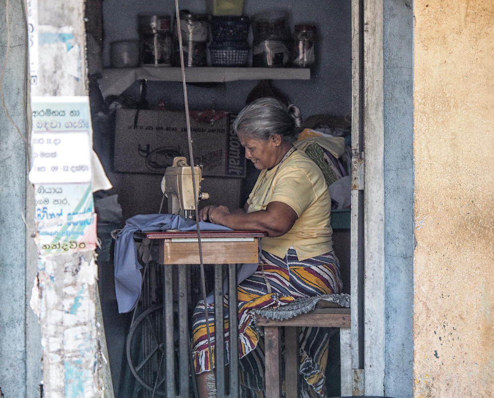 Smile while she works. by jennystokes