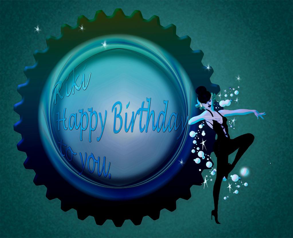 Happy Birthday to you dearest Riki by jennystokes