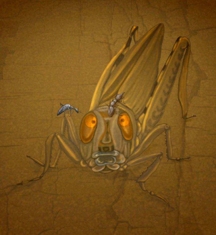 Insect gossip. :wave: