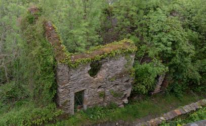 Old ruin. Najac. Aveyron. France by jennystokes
