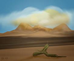 Sandstorm or something...........