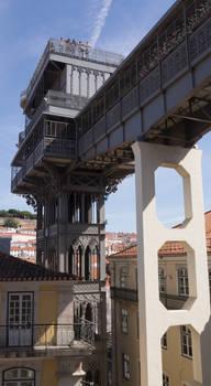 Elevator 1 Lisbon. Portugal