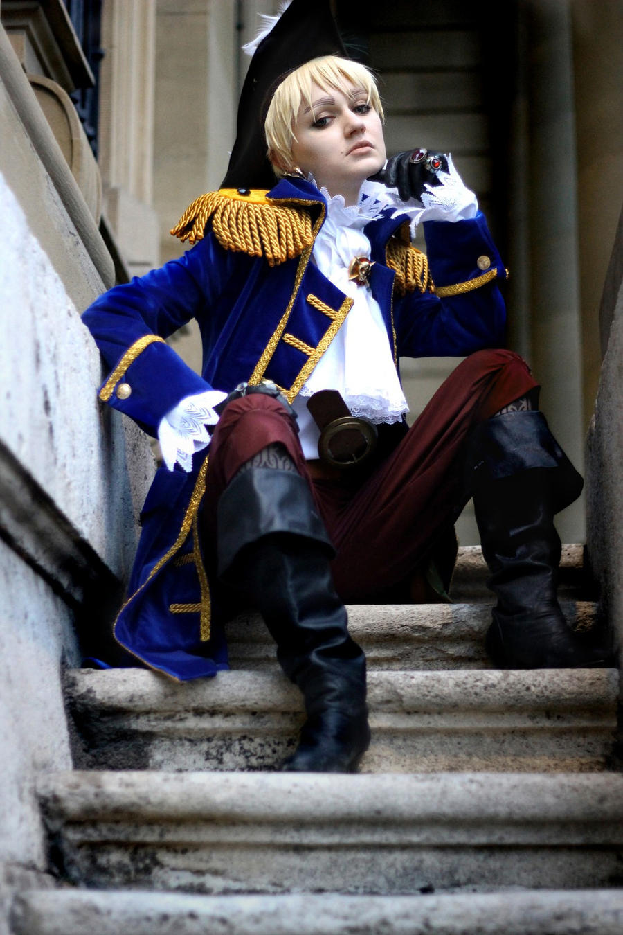 Arthur Kirkland: Pirate by Carrotelino