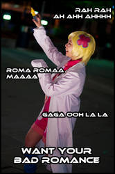 WANT YOUR BAD ROMANCE