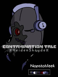ContaminationTale Napstablook Reference by Corpsetalia-fan