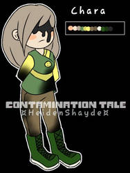 ContaminationTale Chara Reference by Corpsetalia-fan