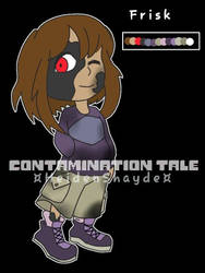 ContaminationTale Frisk Reference by Corpsetalia-fan