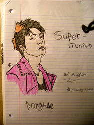 Donghae by ChelsiexBenningfield