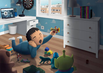 Daniel's Room by unsain